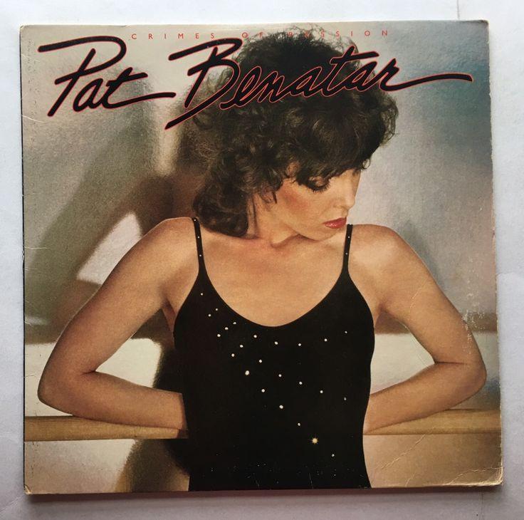 PAT BENATAR CRIMES OF PASSION VINYL 1980 CHRYSALIS RECORDS FREE SHIPPING LP