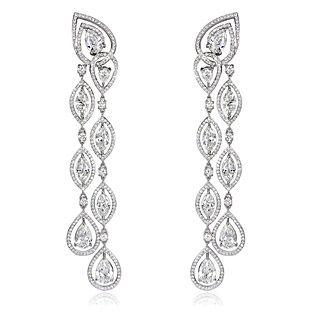 Blue River Diamond Earrings