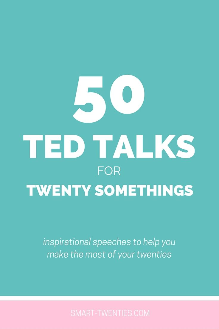 50 TED Talks for Twenty Somethings