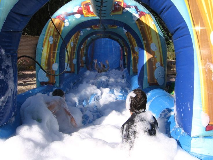 We just took two of our favorite water activities and blended them together for a whole lot of fun! The Kids Scrub (Inflatable slide & slip n slide) along with our foam dance party foam machine. http://partyprofessionals.com/school-carnival-arizona/kids-scrub-plus-the-foam-dance-party-machine-the-hottest-water-activity-in-phoenix-az/