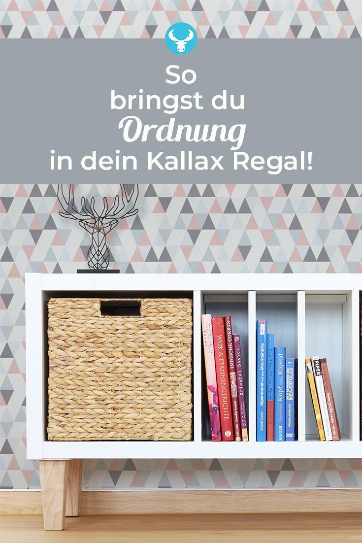 Ikea Hack: Mit diesen Regaleinsätzen kommt Ordnung in dein Kallax Regal und zud