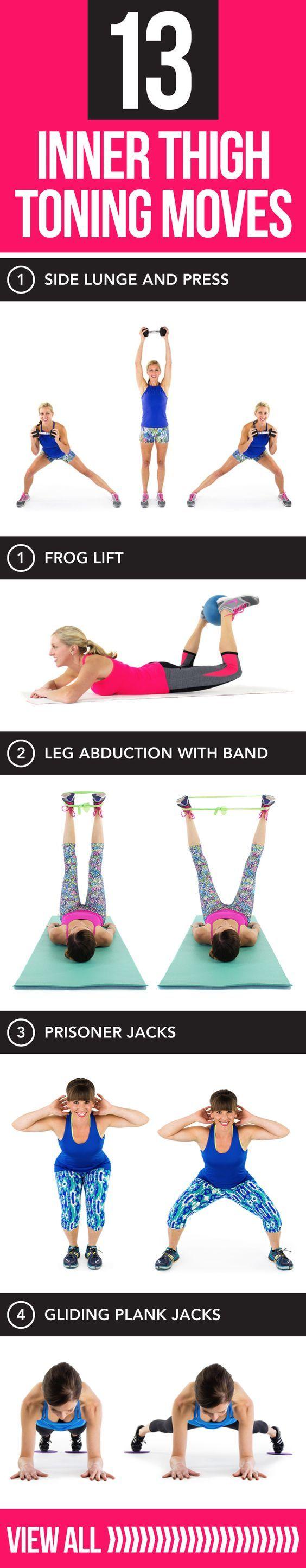 Tone and tighten those legs ladies!