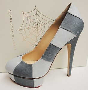 In love with my new Charlotte Olympia shoes ♥