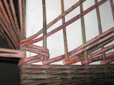 Vertikální obtáčení :: Pletení z papíru Hanča Čápule