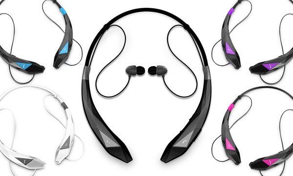 Aduro Amplify Pro Stereo Bluetooth Headset 1 2 Or 3 Pack Headset Bluetooth Headphones