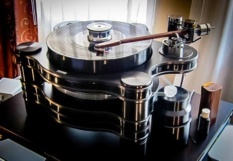 """Durand Talea II Tonearm On  Hanss Acoustics T60 -TAS Audiophile High End Turntable"" !...  http://about.me/Samissomar"
