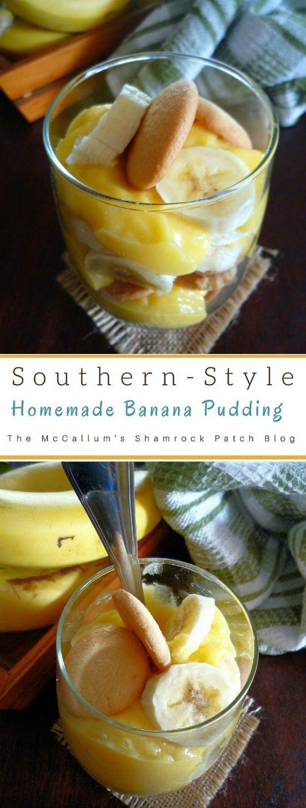 Southern-Style Homemade Banana Pudding