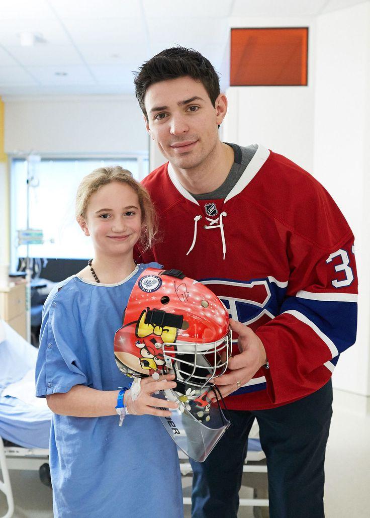 Carey Price ainsi que tous les joueurs du Canadien se sont assurés de prendre le temps de partager des beaux moments avec les jeunes.