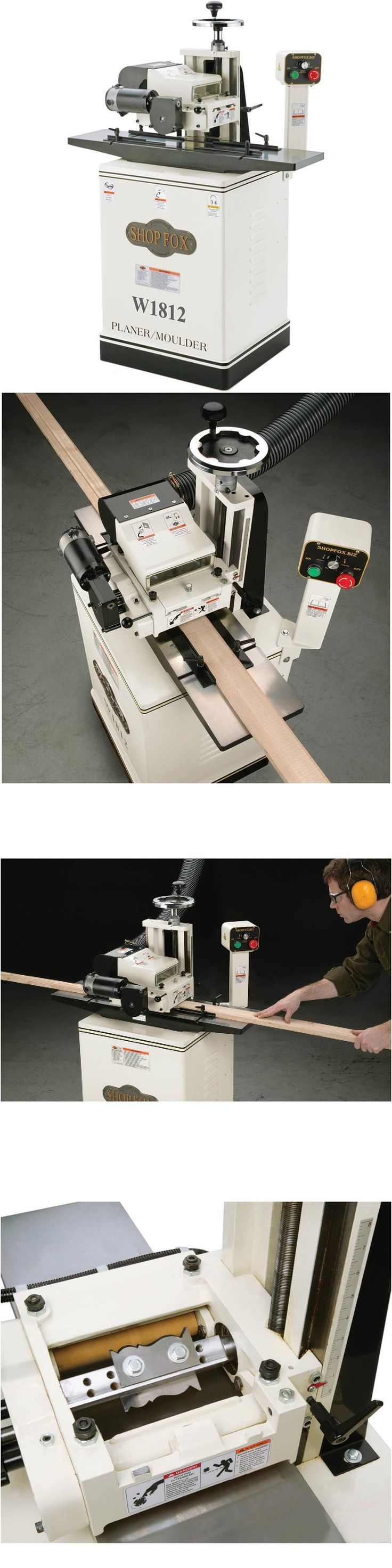 Tools 40 102 promax cast iron router table extension free shipping - Router Tables 75680 Shop Fox W1812 2 Hp 7 Planer Moulder With Stand