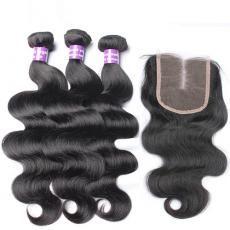 Fabulous Black Women Deep Wave 7A Top Grade Indian Human Hair Extensions 3pcs/Lot Online Sale