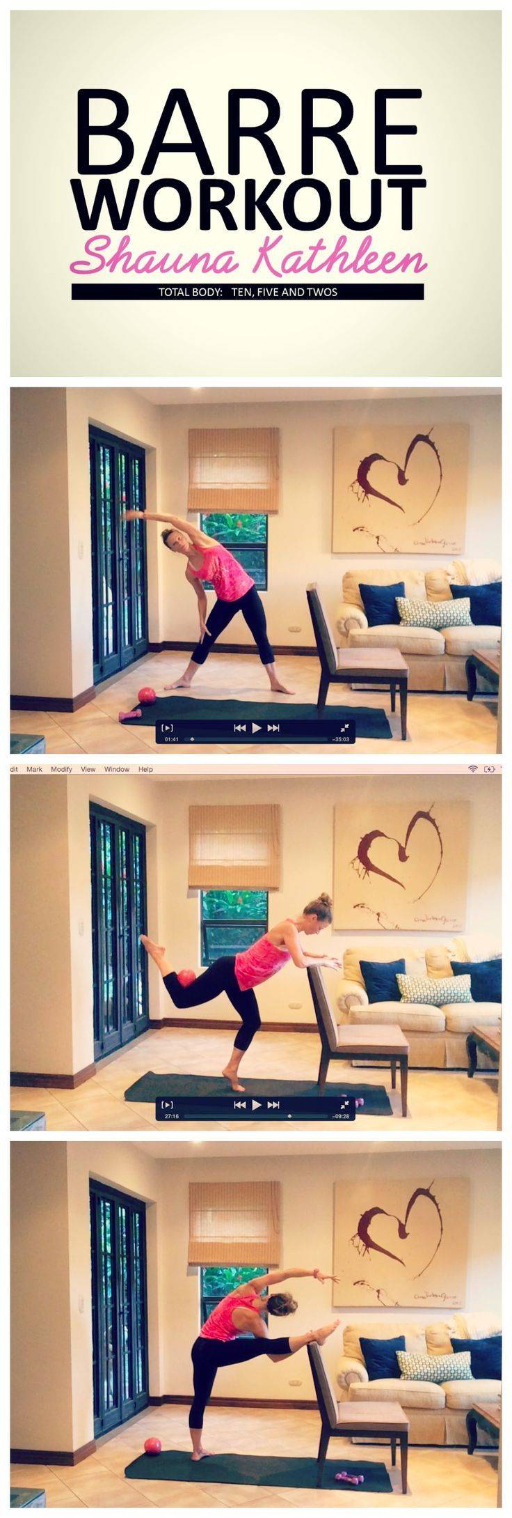 534 best barre images on pinterest work outs exercise workouts full length barre workout tightens and tones the entire body get ready to get 1betcityfo Choice Image