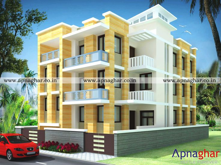 Get Multiple Options For 3d Exterior View Before Starting House Construction Visit Www