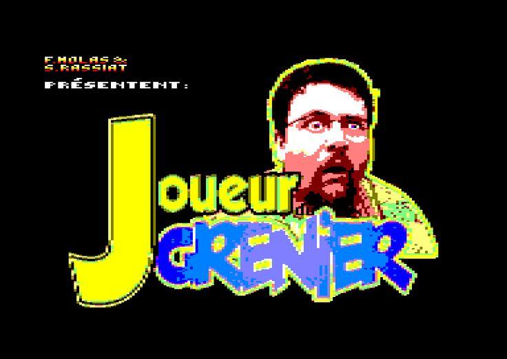 Joueur du Grenier sur Amstrad cpc 6128