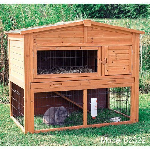 1000 ideas about outdoor rabbit hutch on pinterest rabbit hutches rabbit hutch plans and - How to make a rabbit cage ...