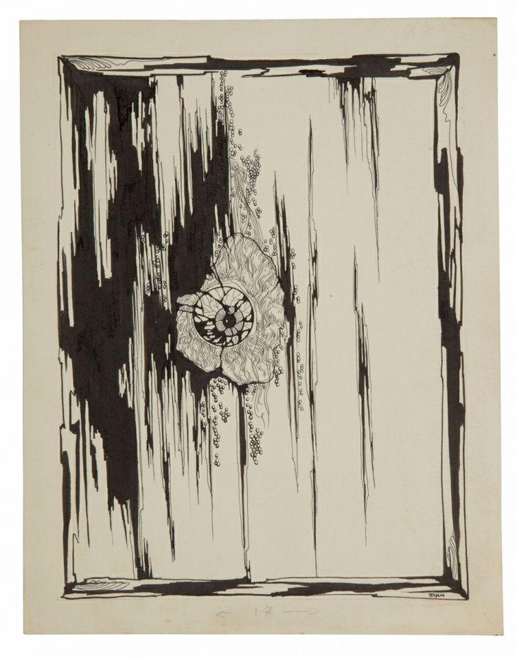 TOYEN (1902-1980) Frontispice pour Antilyrique Encre sur papier Sold 6 500€ with Artprecium #artauction