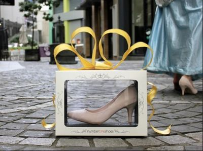 Number One Shoes brings Cinderella to life in social media