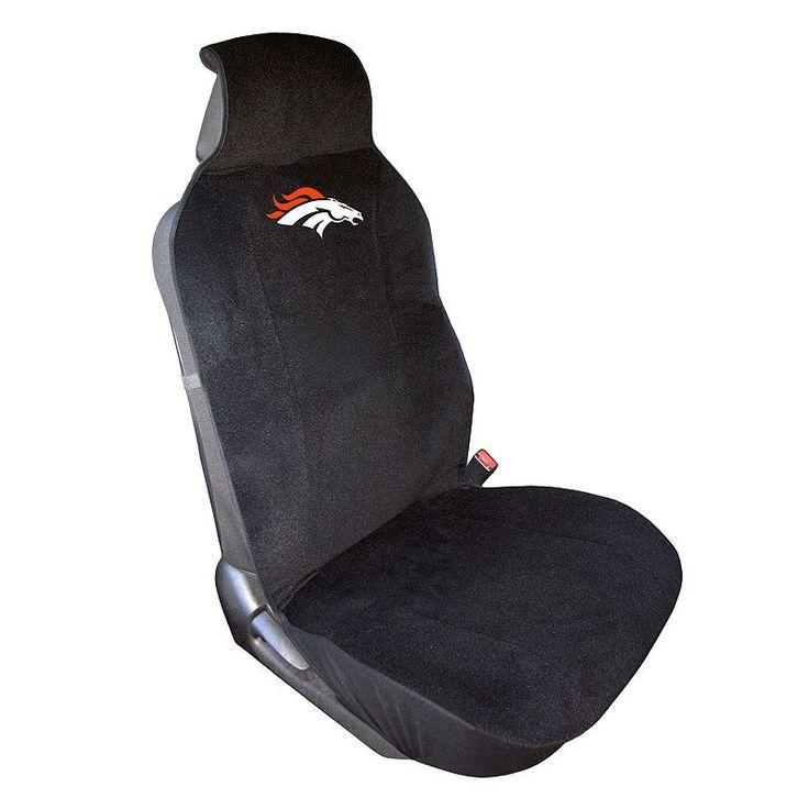 Denver Broncos Car Seat Cover, Multicolor