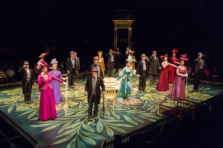 The cast of 'My Fair Lady.' Photo by Richard Anderson.