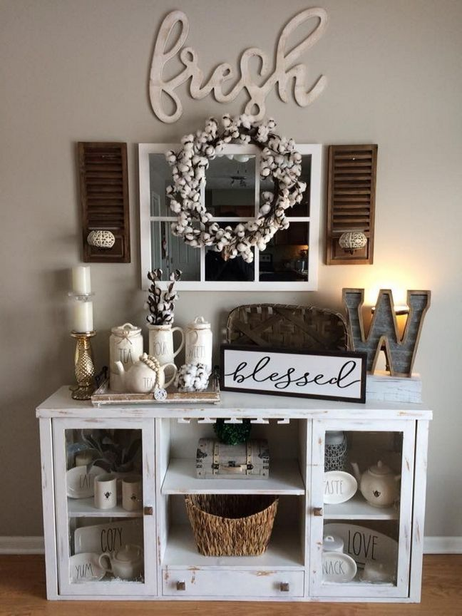 33 That Will Motivate You Hobby Lobby Decor Living Room Rustic 59 Myhomestyleguide Com Farmhouse Decor Living Room Farm House Living Room Home Decor