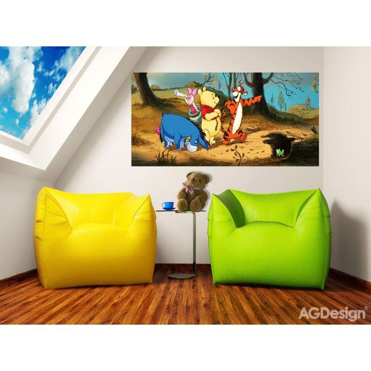 Micimackó és barátai poszter (202 cm x 90 cm)