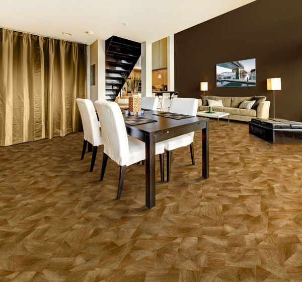 Flooring For Dining Room Endearing Design Decoration