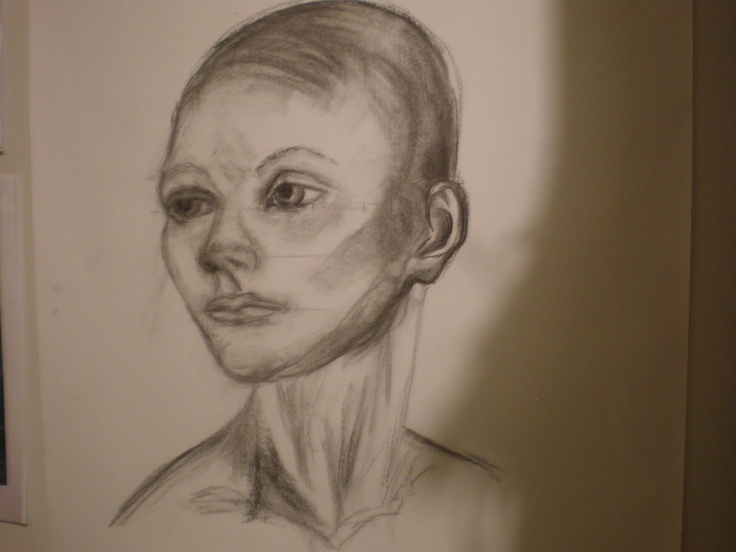portrait of manequin - sketch 2012