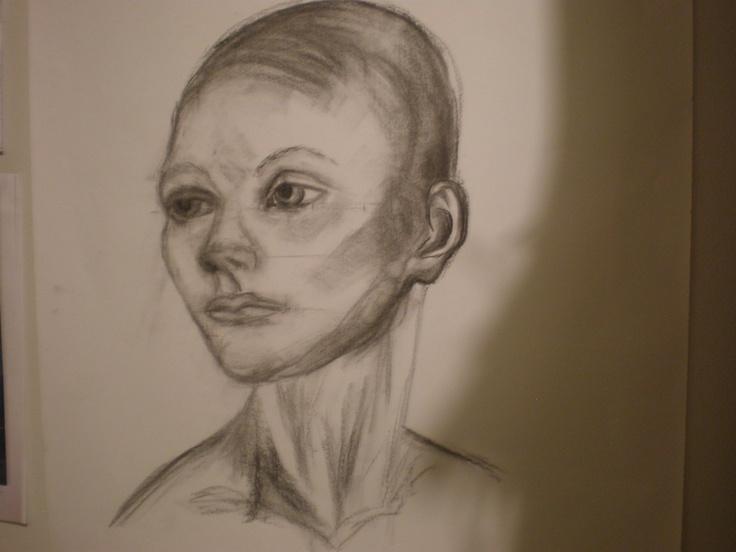 portrait of manequin - sketch 2012