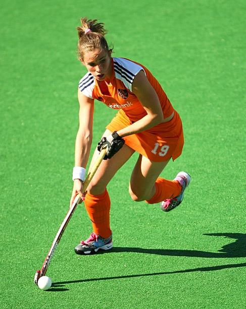 Ellen Hoog - Dutch olympic field hockey