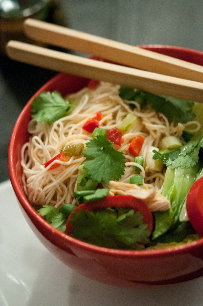 Spicy Chicken Ramen Noodle Soup | Savory Soups | Pinterest