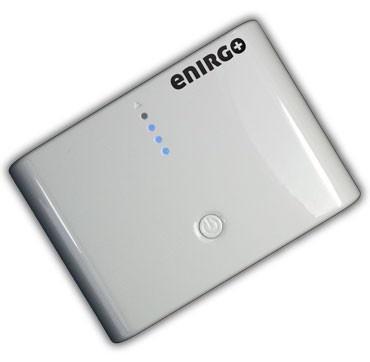 Enirgo Power XL  er det sterkeste nødbatteriet på det norske markedet. Med sine 10 000 mAh har Power XL strøm nok til å holde din mobiltelefon gående i en måned!
