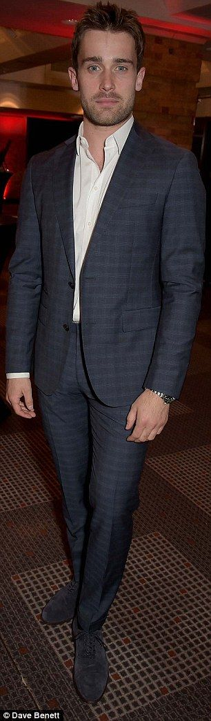 Mikey O'Connor's sophisticated alter-ego Christian Cooke scrubbin' up mighty fine!! :)