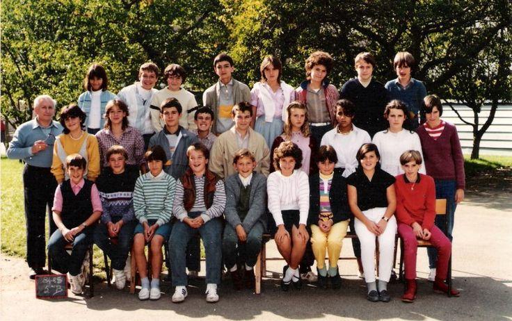 Photo de classe 5ème B de 1985, Collège Sainte-thérèse - Copains d'avant