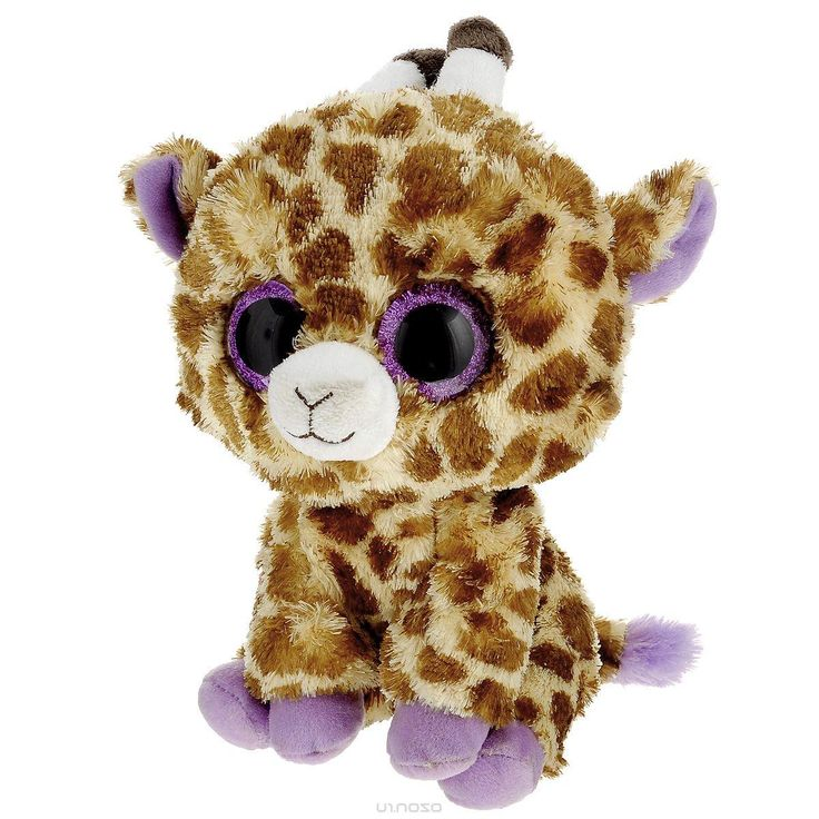 Мягкая игрушка Beanie Boos Жираф Safari, 23 см