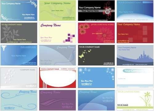 Plantillas de tarjetas de presentacion gratis - Imagui