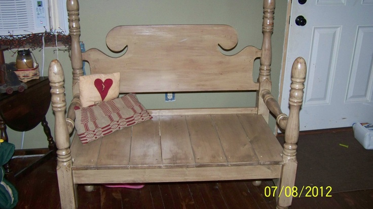 Do It Yourself Home Design: 17 Best Images About Beds Into Benches On Pinterest