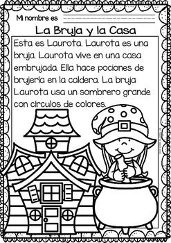 Easy-Reading-for-Reading-Comprehension-in-Spanish-October-Set-2066149 Teaching Resources - TeachersPayTeachers.com