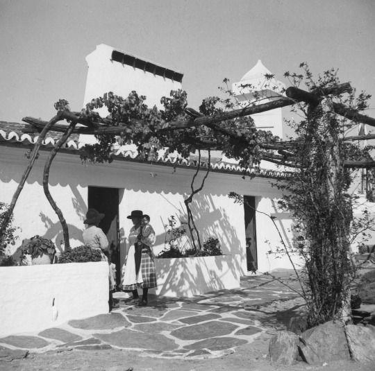 Artur Pastor: Algarve, décadas de 50/60