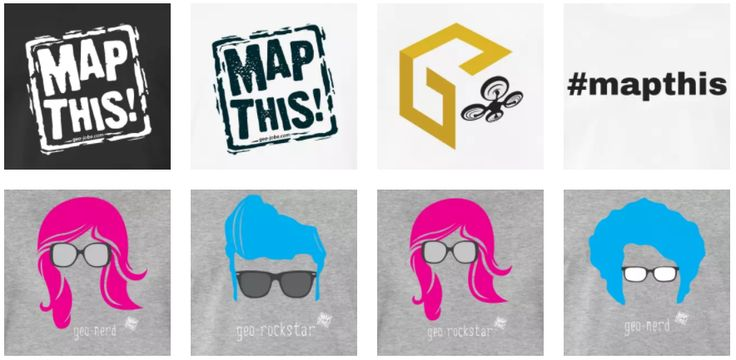 mapthis geo swag store -- MapThis! is our initiative to bring awareness to everything that is powerful and awesome about maps, mapping, and geography