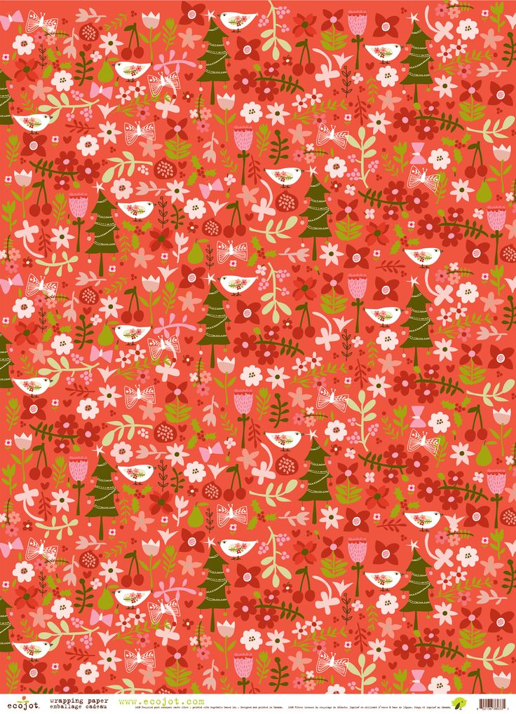 #Holiday #Red #Gift #Wrap