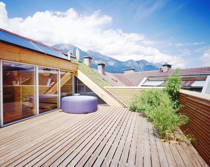 Costruire un terrazzo in mansarda ne aumenta la vivibilità e il valore ecco le norme