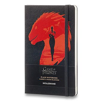 Zápisník Moleskine Hra o trůny / Notebook Moleskine, limited edition Game of Thrones