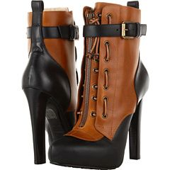I might die if I tried to walk in these DSQUARED Ankle Boot | 6pm.com #steampunk