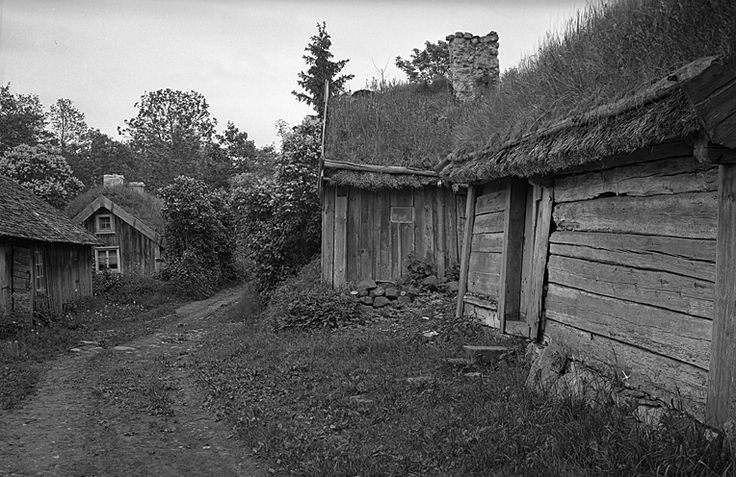 Åsle village, Sweden, 1931