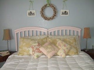 10 Things To Do with a Recalled Crib. Good headboard for a twin size bed (or larger) for kids. Just paint or leave natural wood.