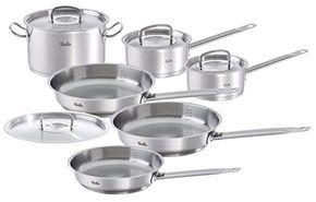 Fissler 10PC Original Profi Cookware Set, Various, Silver