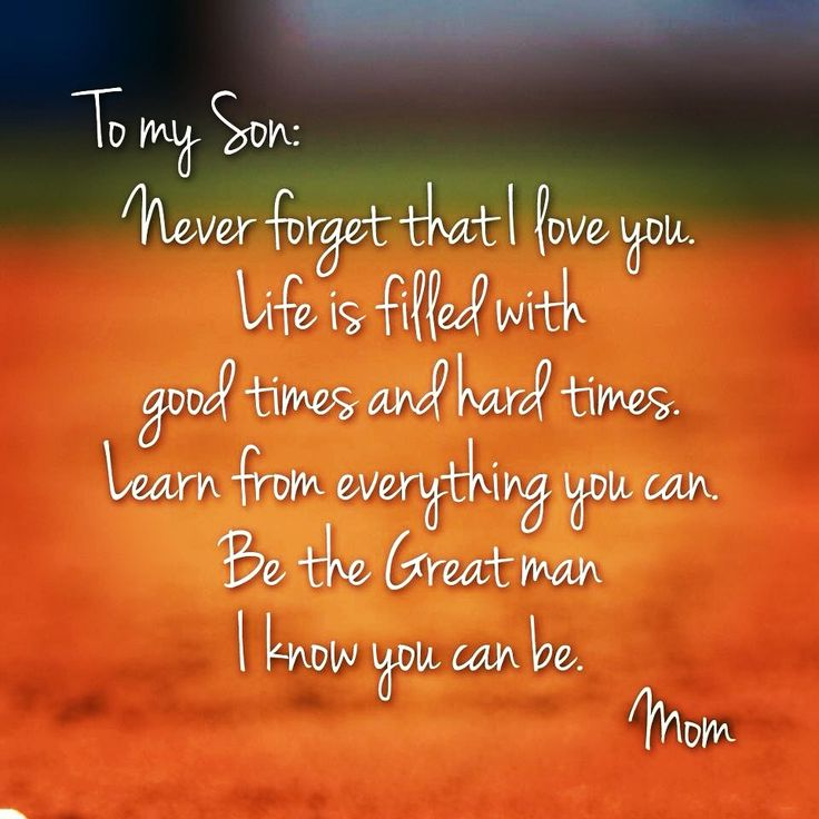 To My Mom Quotes: 25+ Best Proud Mom Quotes On Pinterest