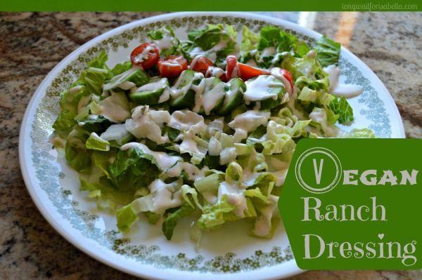Vegan Ranch Dressing Recipe