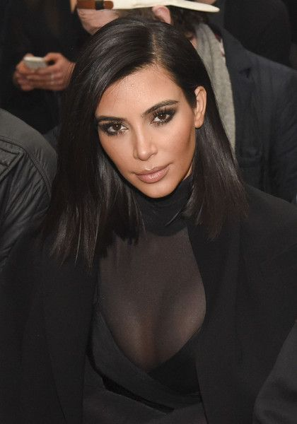Kim Kardashian Photos: Robert Geller - Front Row - Mercedes-Benz Fashion Week Fall 2015