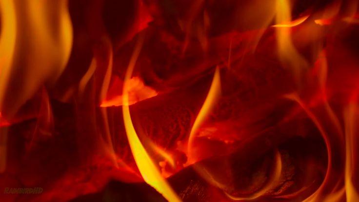 12 Hours of Crackling Fire Sounds | Relaxing Fireplace Sound Virtual Fir...