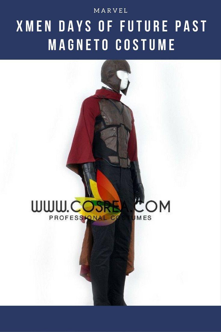 Xmen Days Of Future Past Magneto Cosplay Costume